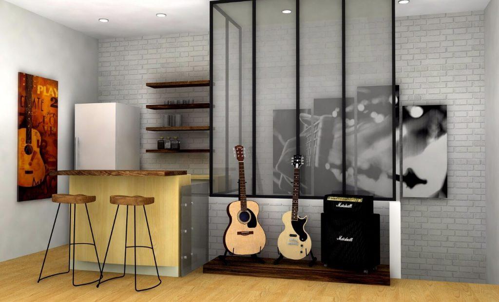 mini bar ,coffee pantry