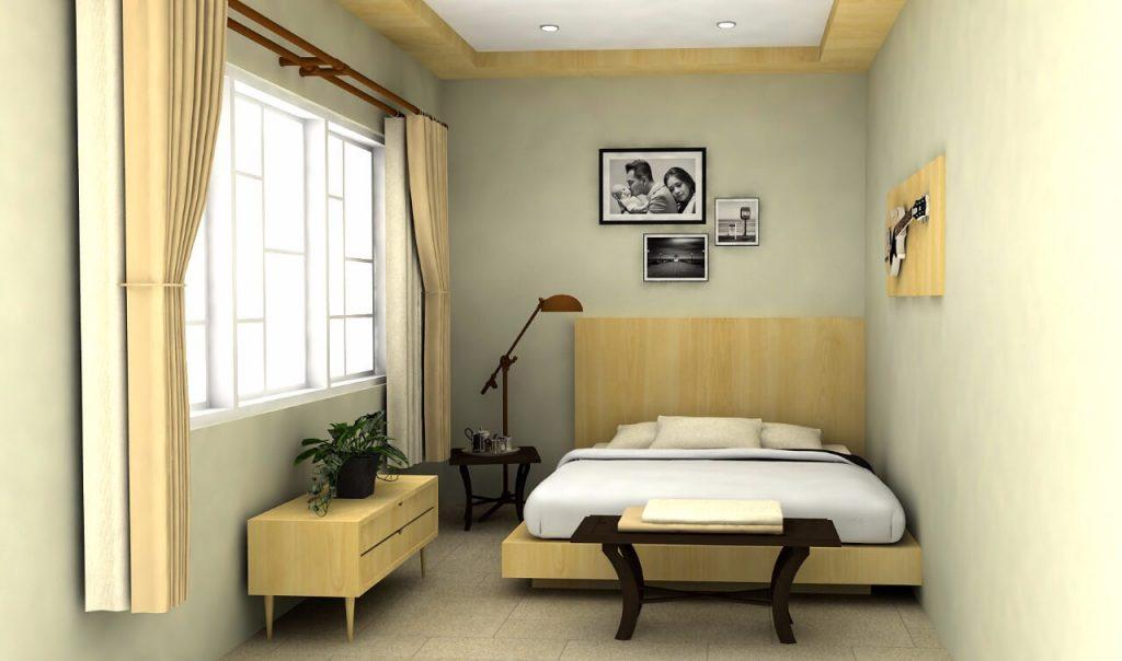 kamar tidur scandinavian desain