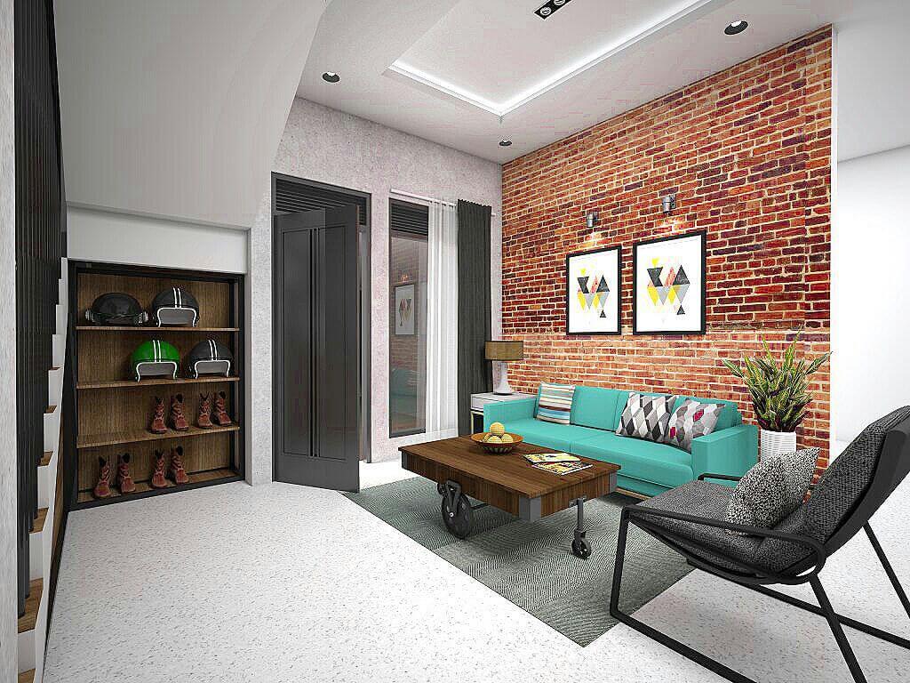 Desain interior living room