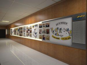 Desain interior koridor