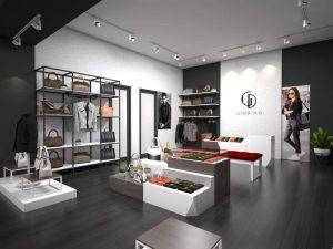 Desain interior toko
