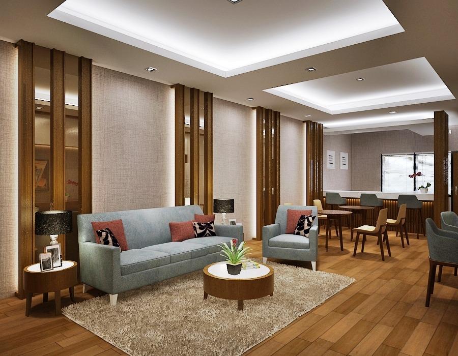 desain interior office lounge